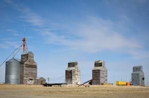 Grain Elevators, Rapelje, MT